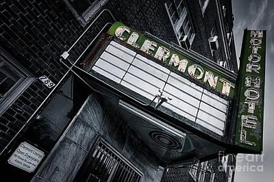 Claremont Photograph - Clermont Hotel by Doug Sturgess