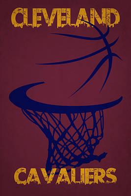 Cleveland Photograph - Cleveland Cavaliers Hoop by Joe Hamilton