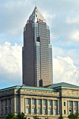 Cleveland Key Bank Building Print by Frozen in Time Fine Art Photography