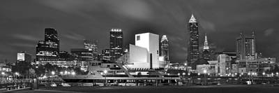Cleveland Lakefront Panoramic Print by Frozen in Time Fine Art Photography