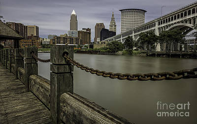 Cleveland Ohio Print by James Dean
