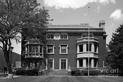 Clemson Photograph - Cleveland State University Mather Mansion by University Icons