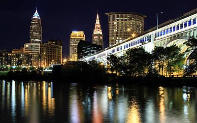 City Scenes Photograph - Cleveland Superior by J Allen