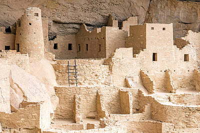 Cliff Palace 1 Print by Nicholas Blackwell