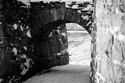 Photograph - Cliff Walk Arch  by Allan Millora