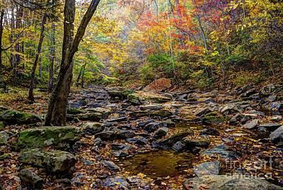 Clifty Creek In Hdr Print by Paul Mashburn