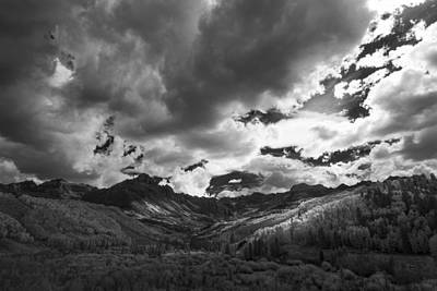 Climb The Clouds Print by Jon Glaser