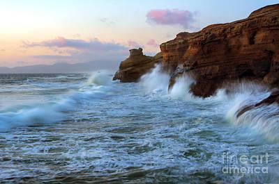 Climbing The Cliffs Original by Mike Dawson