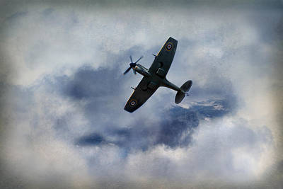 Raf Photograph - Clipped Wing Spitfire by Jason Green