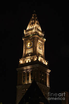 Clock Tower Original by Kelly Carey