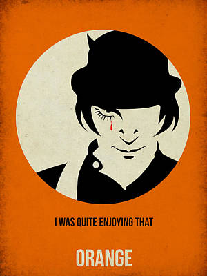 Famous Mixed Media - Clockwork Orange Poster by Naxart Studio