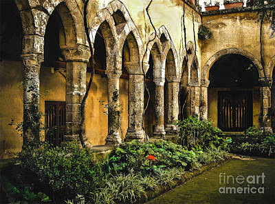 Cloister 1 Print by Tom Dale