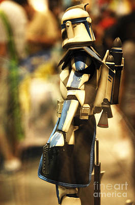 Jet Star Photograph - Clone Trooper by Micah May