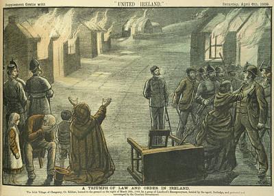 Clongorey Print by British Library