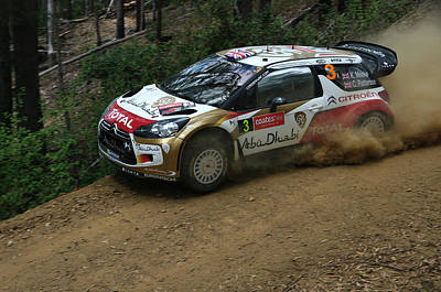 Ds3 Photograph - Close To The Edge - Kris Meeke by Lyle McNamara