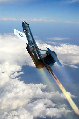 Dramatic Digital Art - Close To The Edge Nf-104 by Peter Chilelli