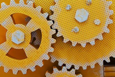 Close Up View Of Gears Original by Serhii Odarchenko