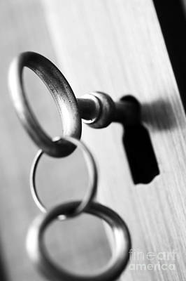 Apartment Photograph - Closed - Key Security by Michal Bednarek