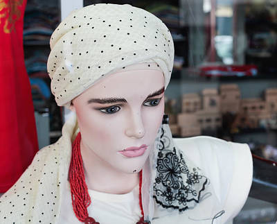 High Street Photograph - Clothes Mannequin by Tom Gowanlock