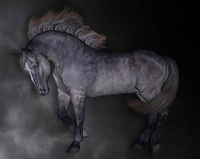 Mysterious Digital Art - Cloud by Betsy C Knapp