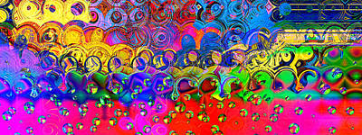 Wendy J. St. Christopher Digital Art - Cloudburst by Wendy J St Christopher