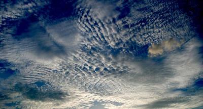Pattern Photograph - Clouds 5 by Sumit Mehndiratta