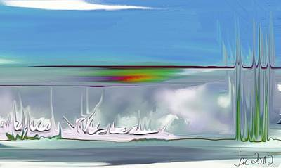 Digital Art - Clouds - Fantasy by Jacqueline Schreiber