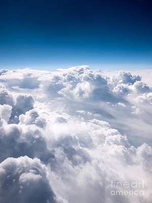 Clouds From Above Print by Paul Velgos