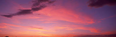 Romantic Location Photograph - Clouds In The Sky At Dusk, Phoenix by Panoramic Images