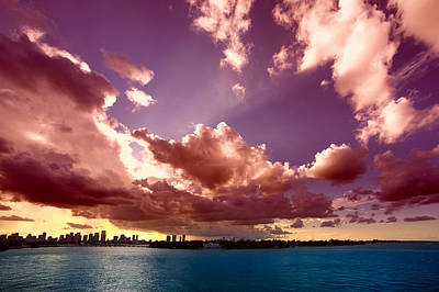Travel Destinations Photograph - Clouds In The Sky by Celso Diniz