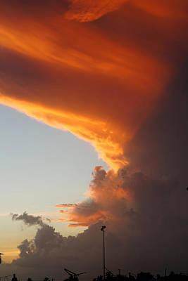 Rihanna Photograph - Clouds Of Hope by Murray Symphorien