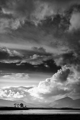Clouds Over Loch Laich Print by Dave Bowman