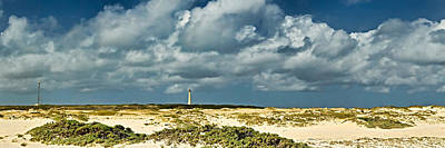 Aruba Photograph - Clouds Over The Beach With California by Panoramic Images
