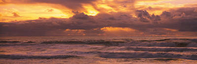 Romantic Location Photograph - Clouds Over The Ocean, Pacific Ocean by Panoramic Images