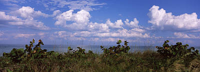 Clouds Over The Sea, Tampa Bay, Gulf Of Print by Panoramic Images