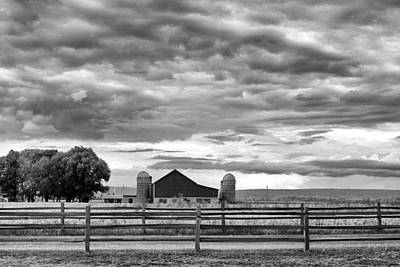 Clouds Over The Upper Midwest Print by Christi Kraft