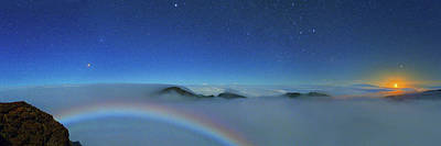 Cloudscape From Haleakala National Park Print by Walter Pacholka, Astropics