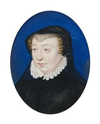 Clouet, Fran�ois 1505-1573. Catherine Print by Everett