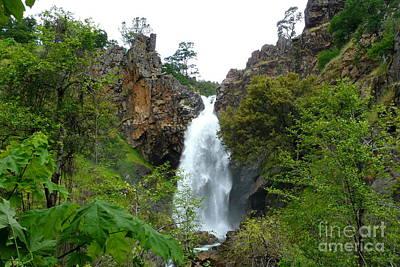 Waterfall Photograph - Clover Creek Falls 3 by Joshua Greeson