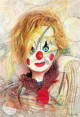 Clown 394-08-13 Marucii Print by Marek Lutek