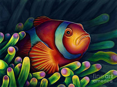 Clown Fish Painting - Clown Fish by Scott Spillman