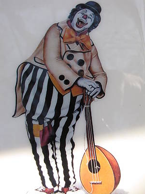 Etc. Mixed Media - Clown by HollyWood Creation By linda zanini