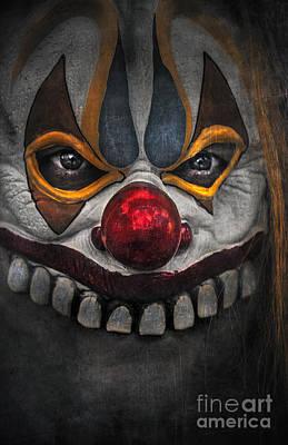 Clown Print by Svetlana Sewell