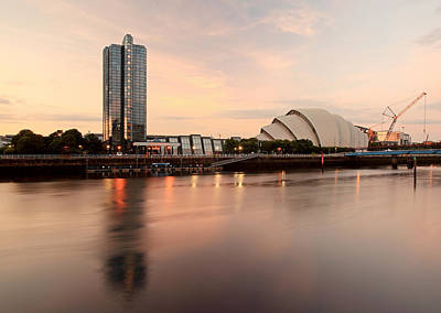 Clyde Waterfront Print by Grant Glendinning
