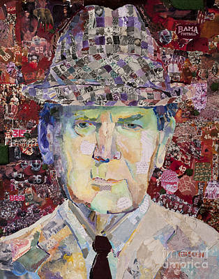 Coach Paul Bryant Print by Alaina Enslen