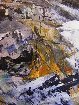 Coal 2 Print by Nancy Kane Chapman