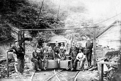 Hal Photograph - Coal And Coke Mining by Library Of Congress