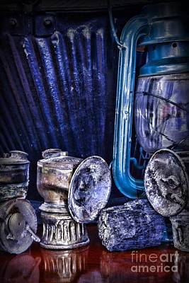Interior Decoration Photograph - Coal Miner's Gear by Paul Ward
