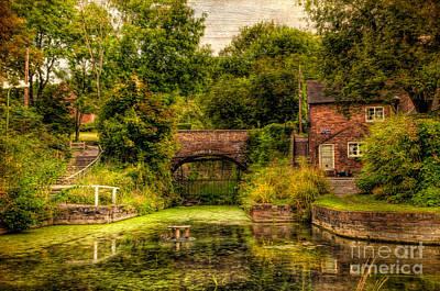 Coalport Canal Print by Adrian Evans