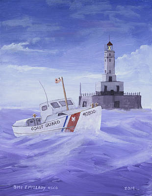 Coast Guard 40300 Print by Jerry McElroy